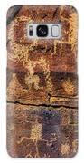 Rock Wall Of Petroglyphs Galaxy S8 Case