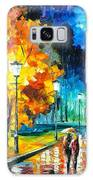 Romantic Night 2 - Palette Knife Oil Painting On Canvas By Leonid Afremov Galaxy S8 Case