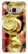 Rows Of Roses. Like Ballerinas Lining Galaxy Case by Mr Photojimsf