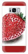 Strawberry Bite Galaxy S8 Case