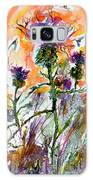 Thistles And Bees Watercolor And Ink Galaxy S8 Case