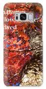 Tree On Fire - Haiku Galaxy S8 Case