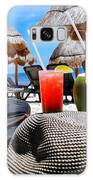 Tropical Paradise Sun, Sand, Beach And Drinks. Galaxy S8 Case