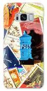 True Blue Postbox Galaxy S8 Case