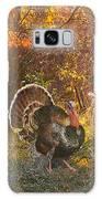 Turkey In The Woods Galaxy Case by John Dyess