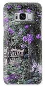 Violet Muted Garden Respite Galaxy S8 Case