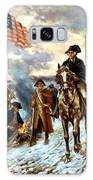 Washington At Valley Forge Galaxy Case