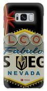 Welcome To Vegas Knights Sign Digital Drawing Galaxy S8 Case