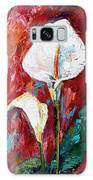 White Calla Lilies Oil Painting Galaxy S8 Case