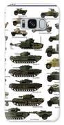 Ww2 British Tanks Galaxy S8 Case