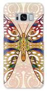 Butterfly Illustration - Transforming Rainbows  - Omaste Witkowski Galaxy Case by Omaste Witkowski