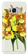 Orchid Vintage Print On Tinted Paperboard Galaxy S8 Case