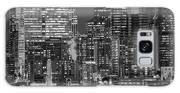 Illuminated City At Night, Seattle Galaxy S8 Case