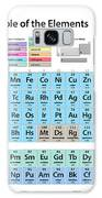 Periodic Table Of Elements Galaxy Case by Michael Tompsett