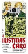 A Christmas Carol Movie Poster 1938 Galaxy Case by Joy McKenzie