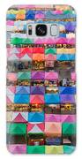 Aerial View Of Multiple Color Roof To Galaxy S8 Case