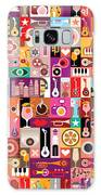 Art Collage, Musical Vector Galaxy S8 Case