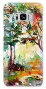 Autumn Trees Watercolors Galaxy S8 Case