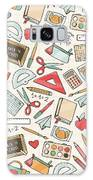 Back To School Seamless Pattern With Galaxy S8 Case