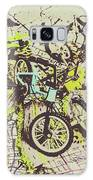 Bikes And City Routes Galaxy S8 Case