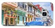 Classic Car Havana 8x10 Galaxy S8 Case