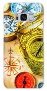 Compass And Compass Rose Galaxy S8 Case