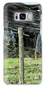 Cow By The Old Barn, Earlville Ny Galaxy Case by Gary Heller