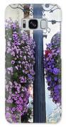 Flowers In Balance Galaxy Case by Mae Wertz