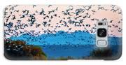 Herd Of Snow Geese In Flight, Soccoro Galaxy S8 Case