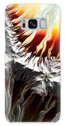 Lava Fire And Ice Fractal Abstract Galaxy Case by Rose Santuci-Sofranko