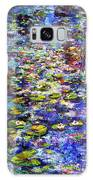 Lily  Pond Impressions Oil Painting Galaxy S8 Case
