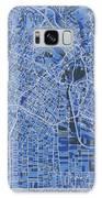 Los Angeles Map Retro 5 Galaxy S8 Case