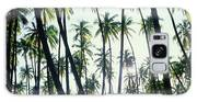 Low Angle View Of Coconut Palm Trees Galaxy S8 Case