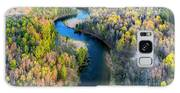 Manistee River From Above In Spring Galaxy S8 Case