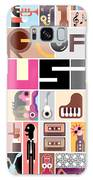 Musical Collage Of Various Images - Galaxy S8 Case