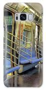 New York City Empty Subway Car Galaxy S8 Case