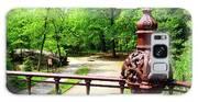 New York's Central Park Winterdale Arch Railing Cast Iron Art Galaxy S8 Case