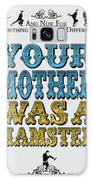 No15 My Silly Quote Poster Galaxy S8 Case