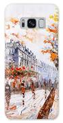 Oil Painting - Street View Of Paris Galaxy S8 Case