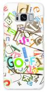 Play On Golf Words Galaxy S8 Case