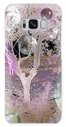 Purple Aura Galaxy Case by Valerie Anne Kelly