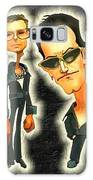Rock N' Roll Warriors - U2 Galaxy S8 Case