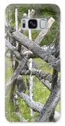 Russel Fence Galaxy Case by Ann E Robson