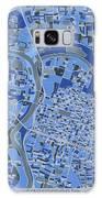 Sacramento Map Retro 5 Galaxy S8 Case