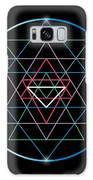 Sacred Geometry And Alchemy Symbol Sri Galaxy S8 Case