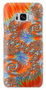 Saint Georges Vanquished Dragon Fractal Abstract Galaxy Case by Rose Santuci-Sofranko