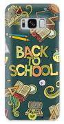 School And Education Doodles Hand Drawn Galaxy S8 Case