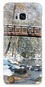 Snowy Bridge Galaxy S8 Case