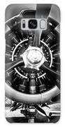 T-28b Vertical Close-up In Bw Galaxy Case by Doug Camara