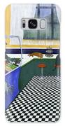 The Cat Cafe Galaxy Case by Karen Zuk Rosenblatt